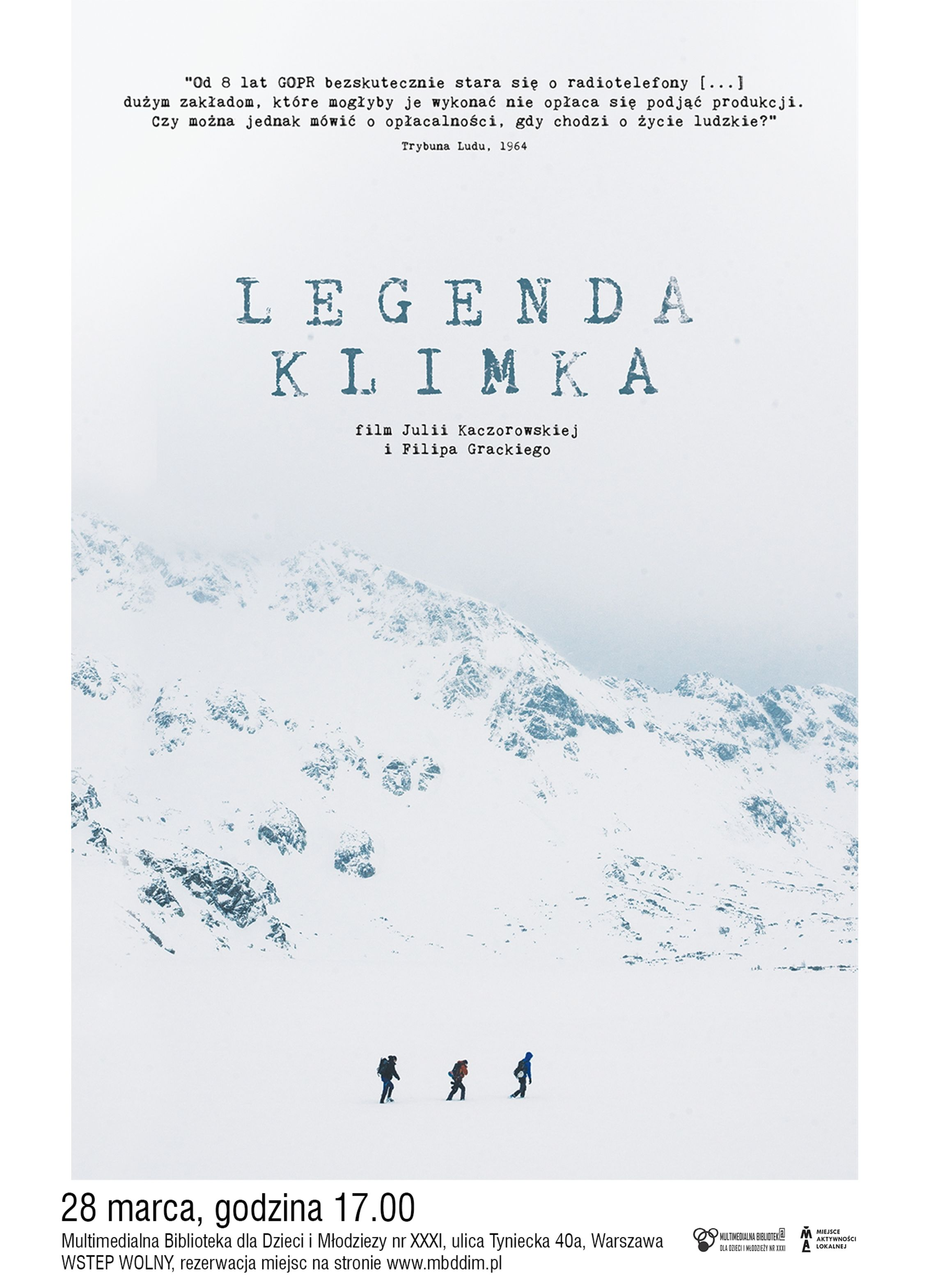 legenda klimka