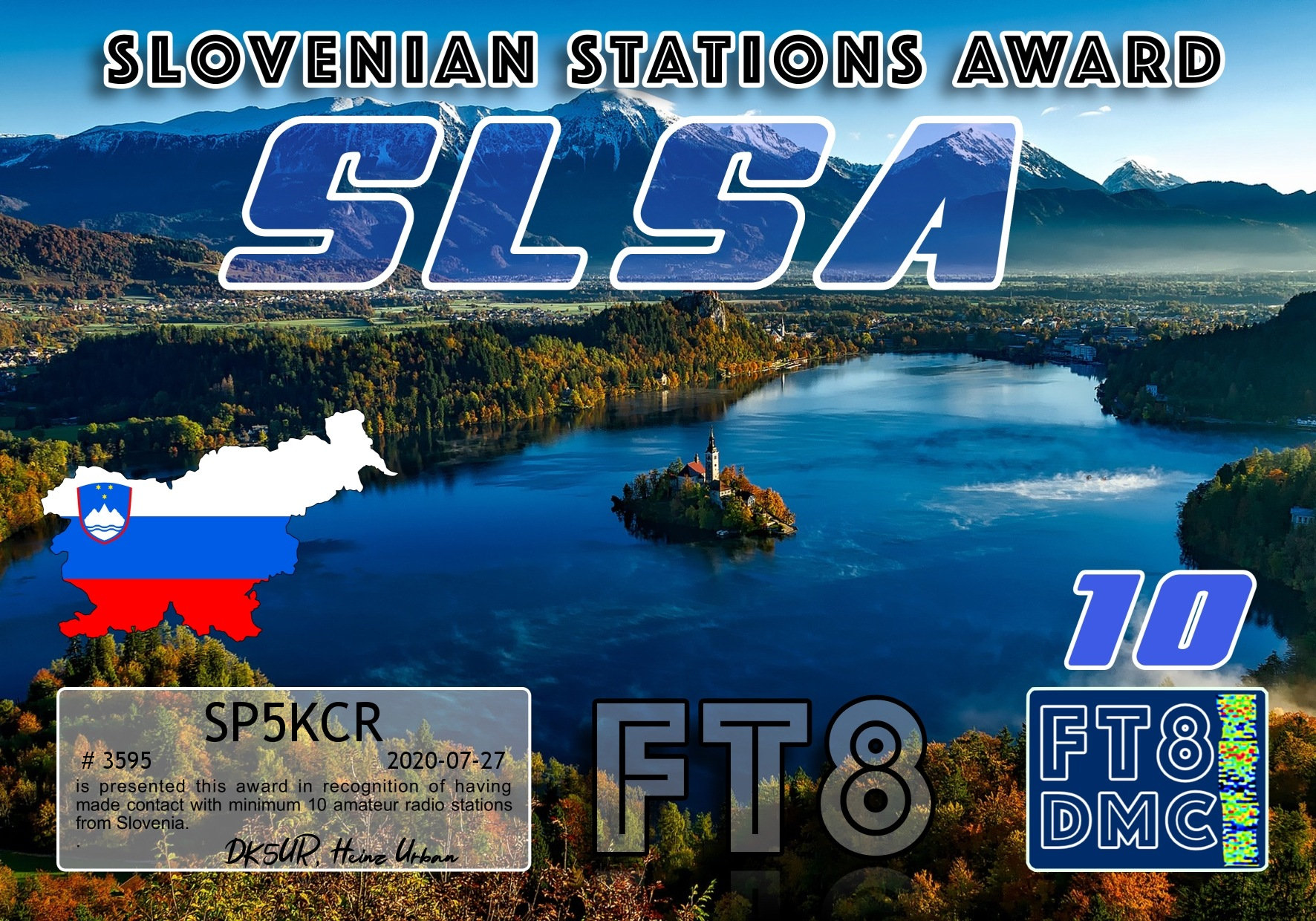 SP5KCR SLSA III FT8DMC