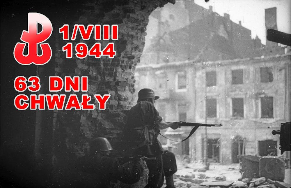71 rocznica Powstania Warszawskiego 1944